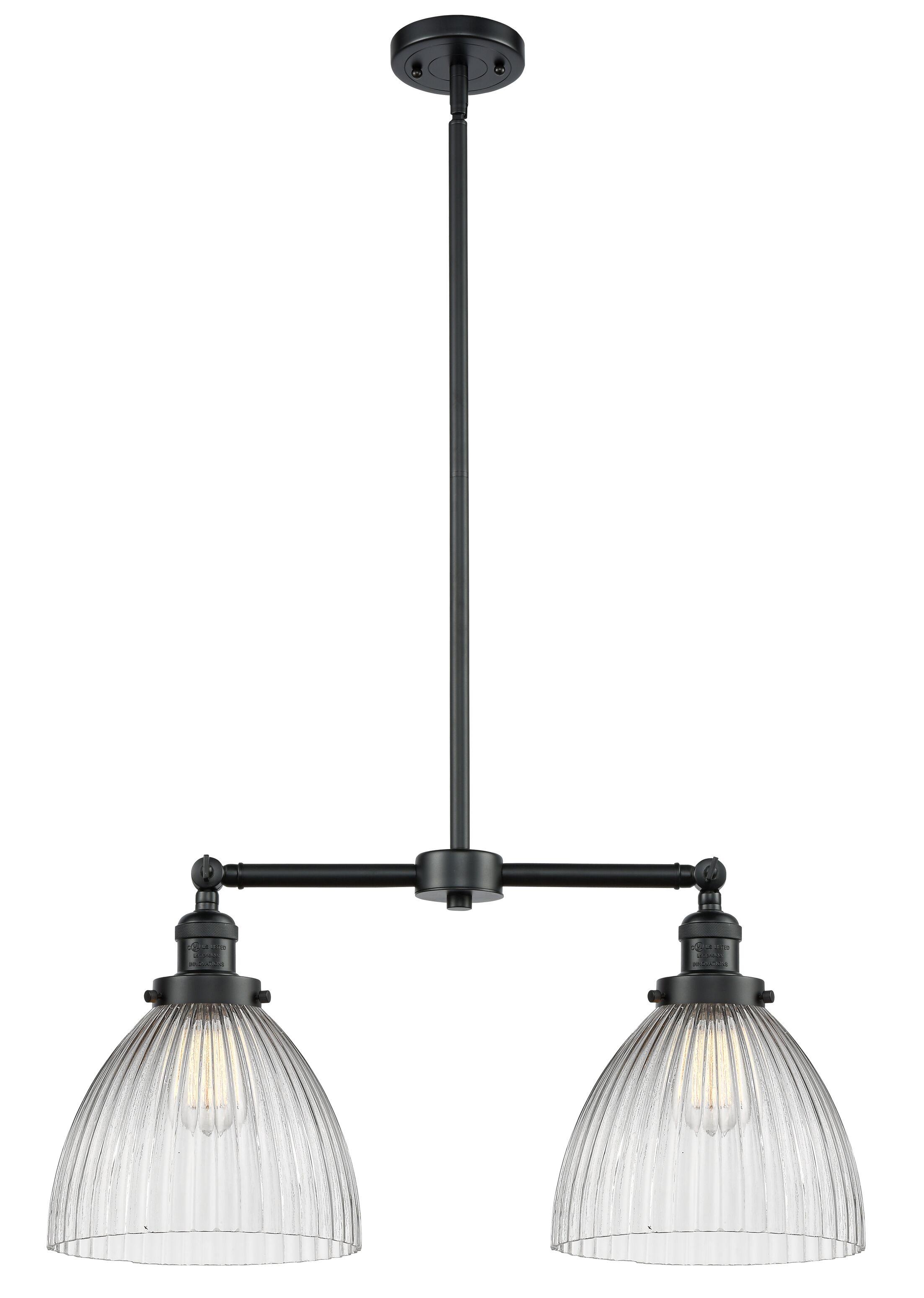 Tallulah 2-Light Kitchen Island Pendant Bulb Type: LED, Finish: Oil Rubbed Bronze