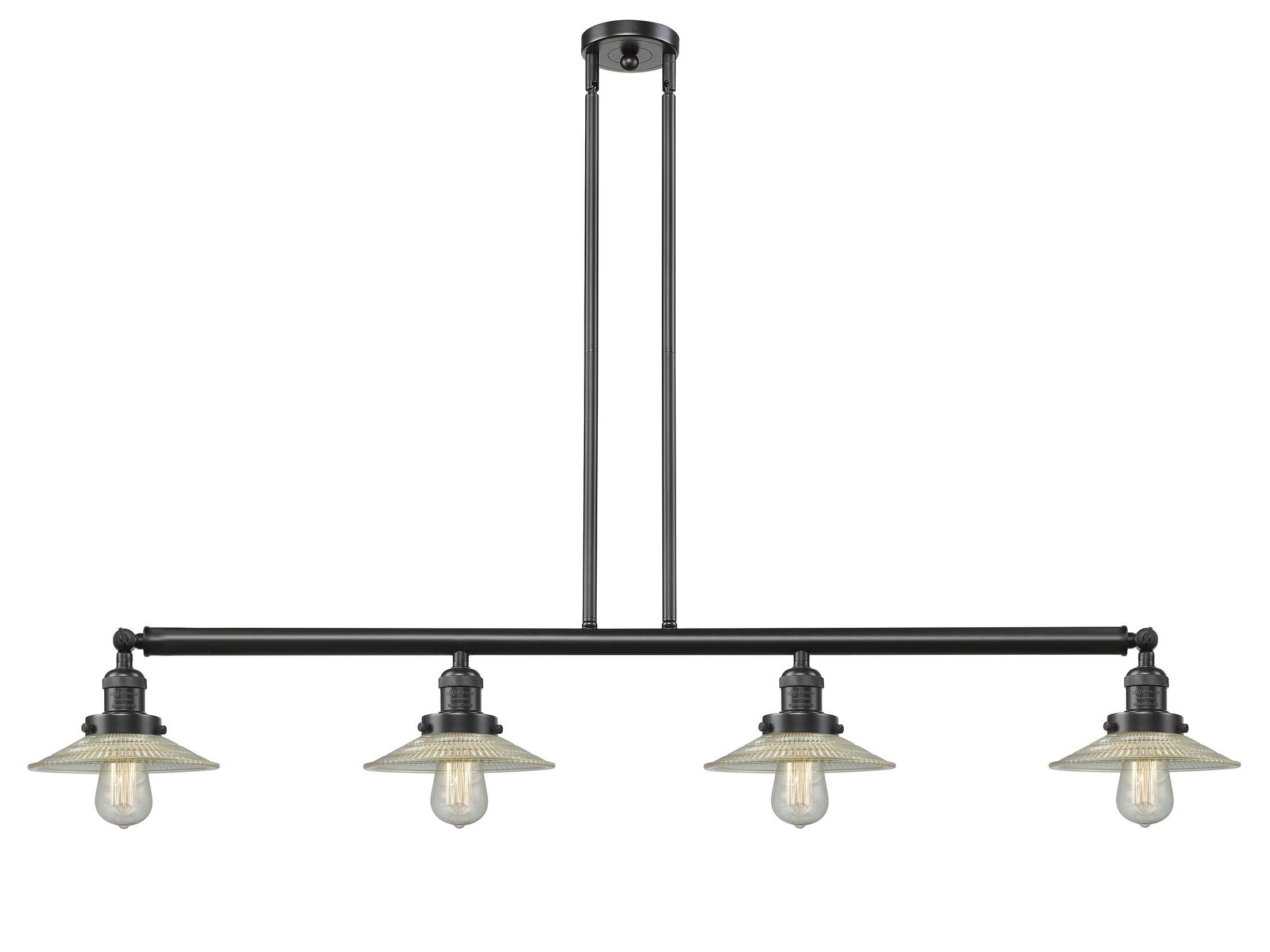 Briar 4-Light Kitchen Island Pendant Bulb Type: LED, Finish: Oil Rubbed Bronze