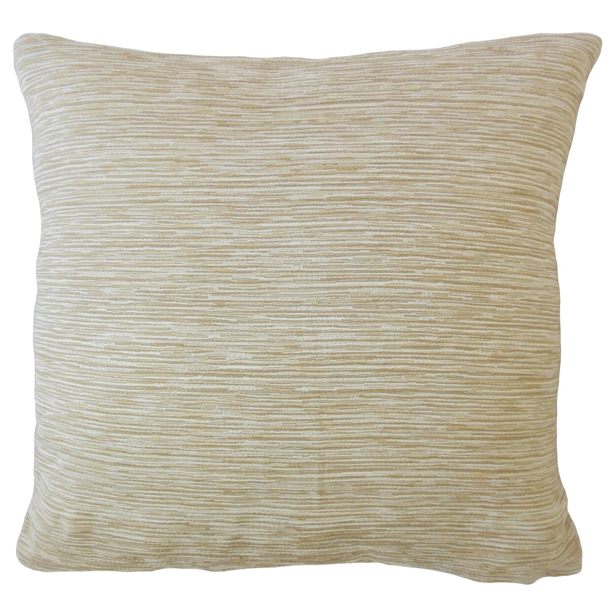 Beaty Solid Pillow Color: Flax, Size: 22