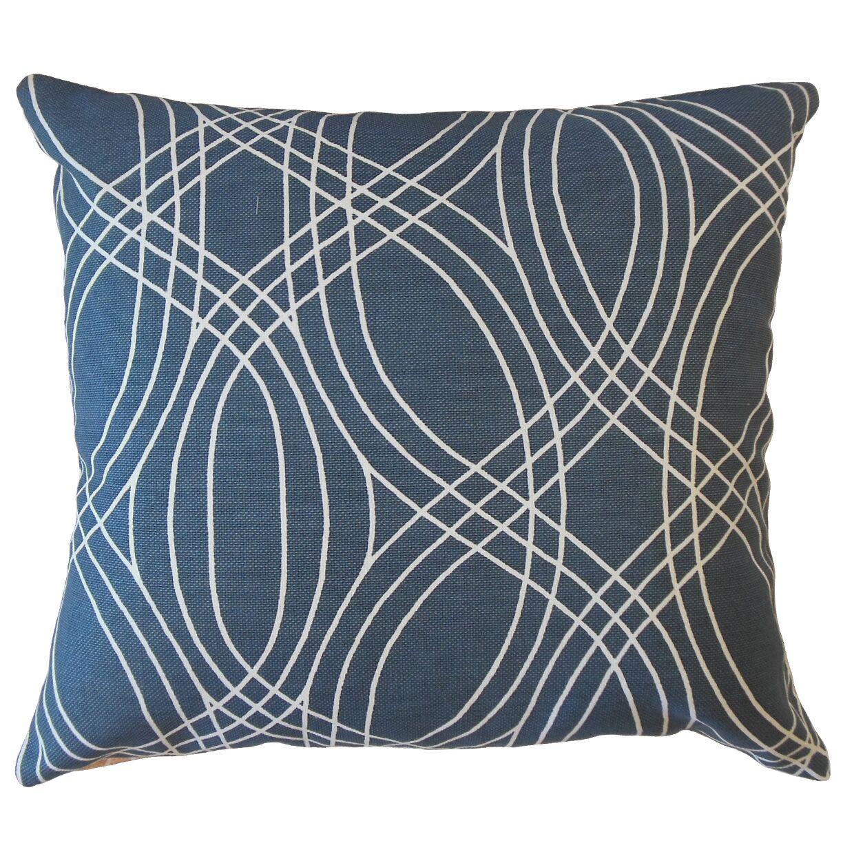 Burgos Geometric Pillow Size: 24