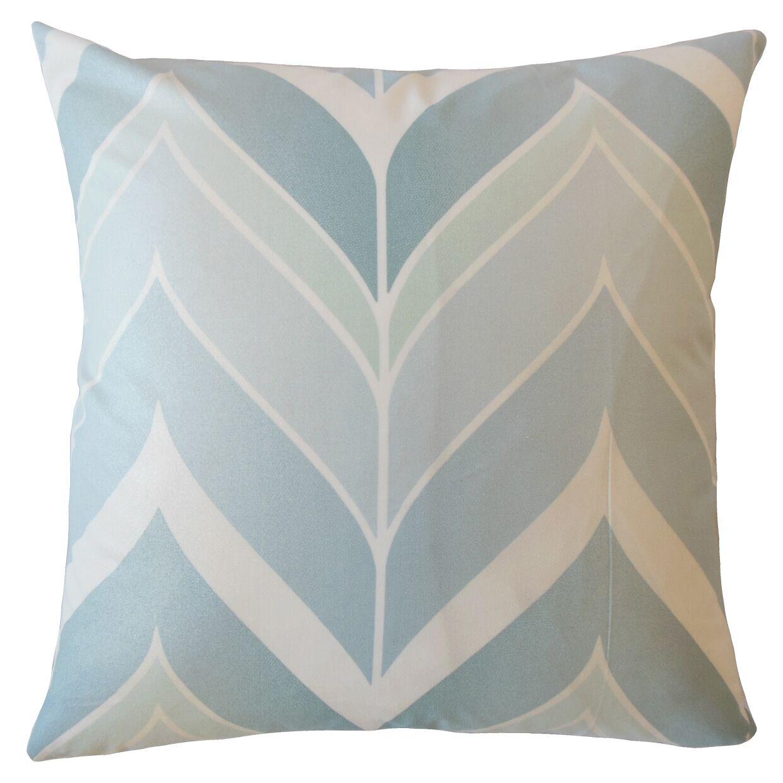Yvaine Chevron Cotton Pillow Size: 24