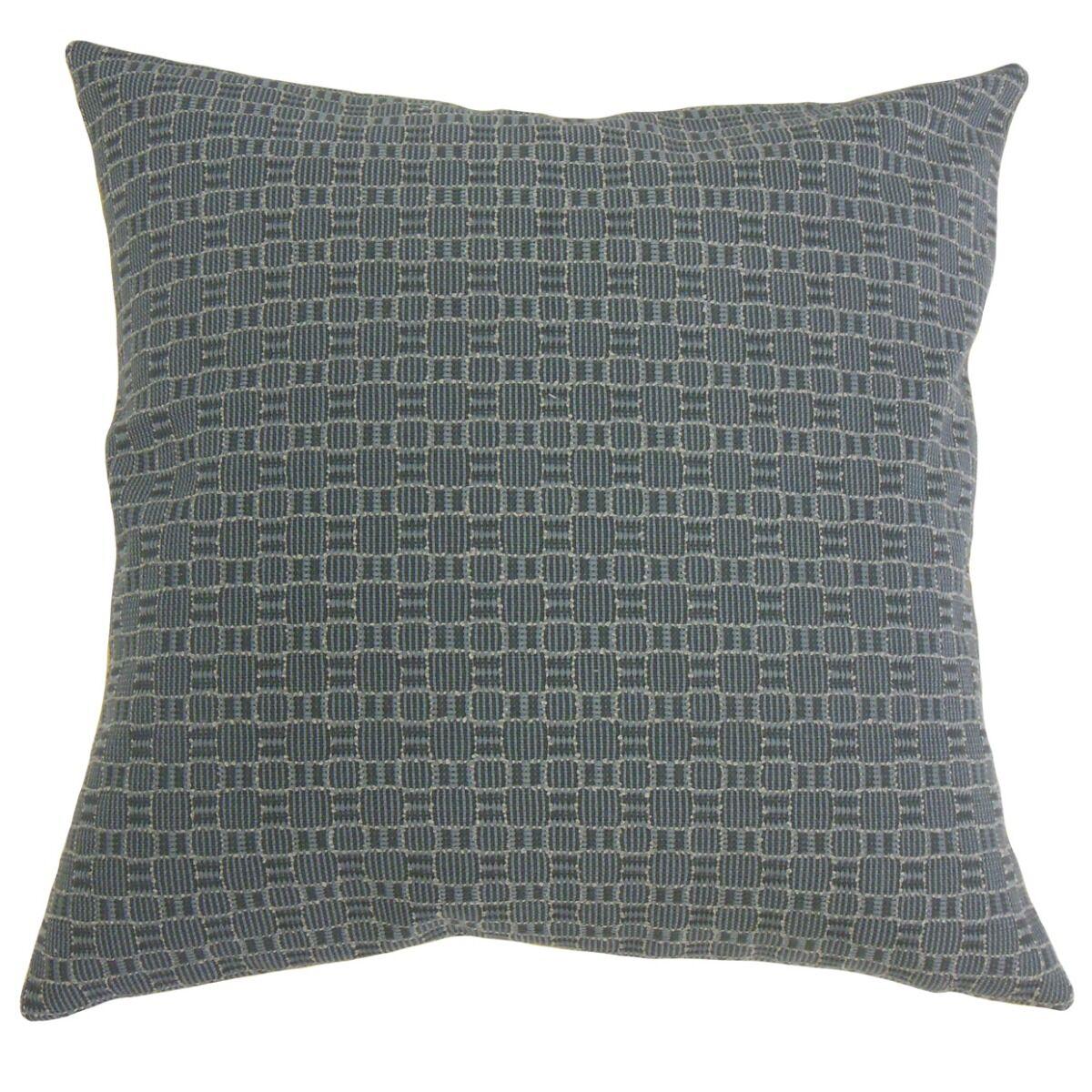 Sunday Plaid Pillow Size: 20