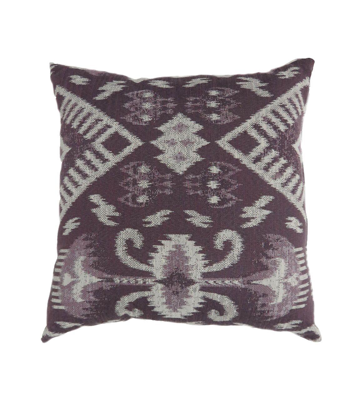 Borough Contemporary Throw Pillow Size: 18