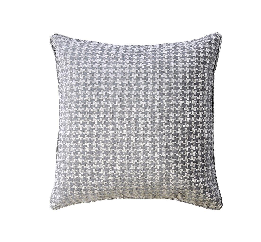 Quarles Contemporary Throw Pillow Color: Gray