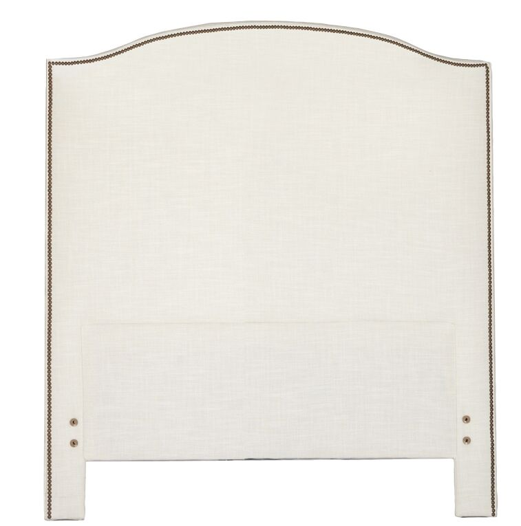 Maxwell Upholstered Panel Headboard Size: Queen, Upholstery: Zulu Feather