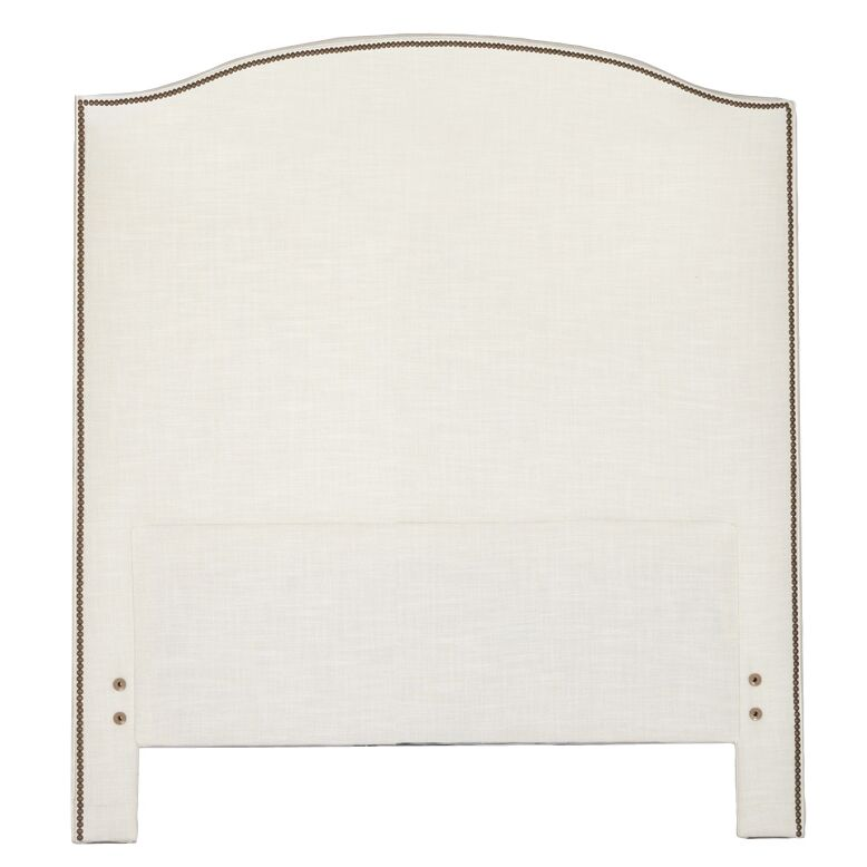 Maxwell Upholstered Panel Headboard Size: King, Upholstery: Zulu Feather