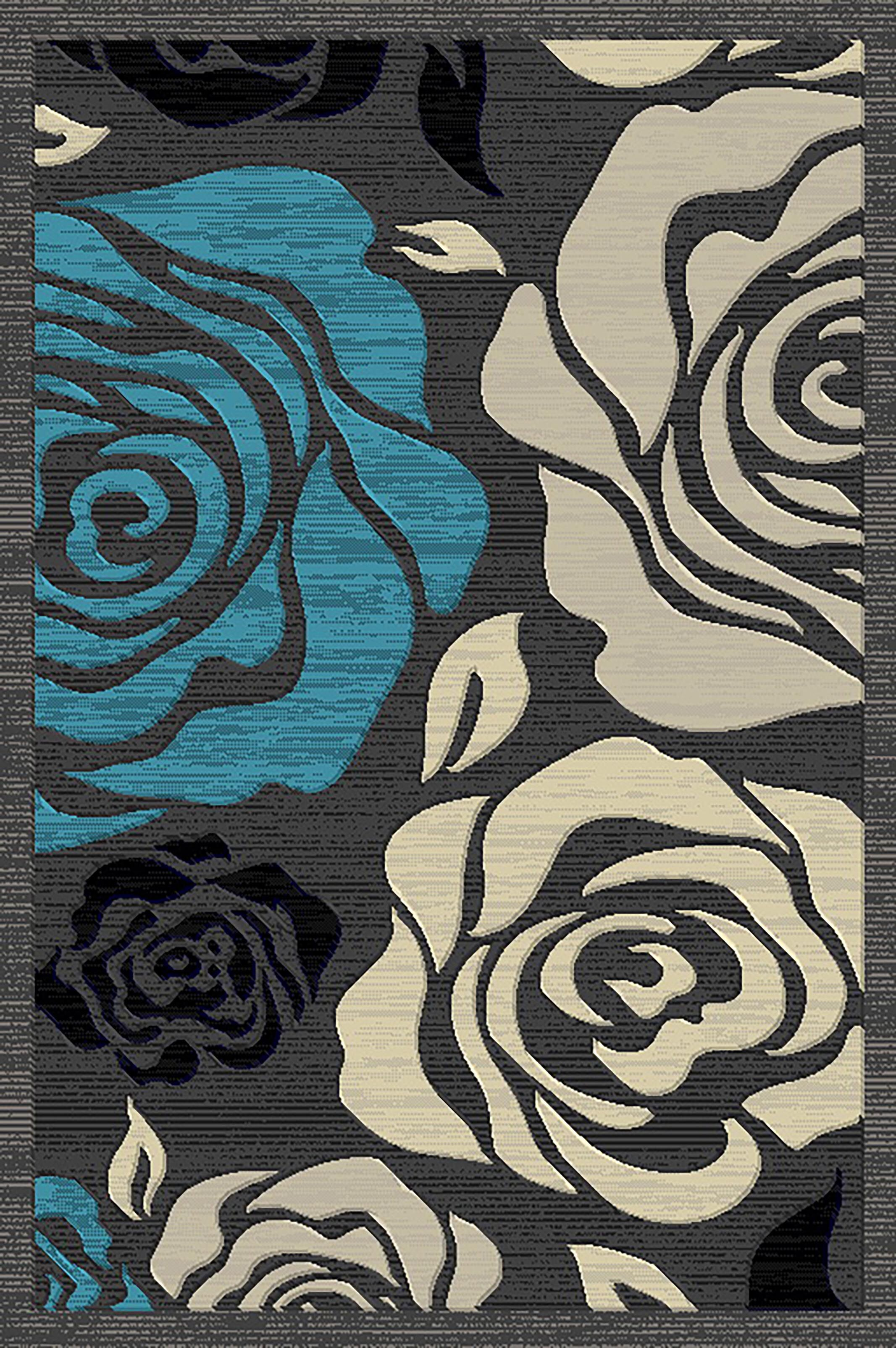 Cosper Blue/Gray Area Rug