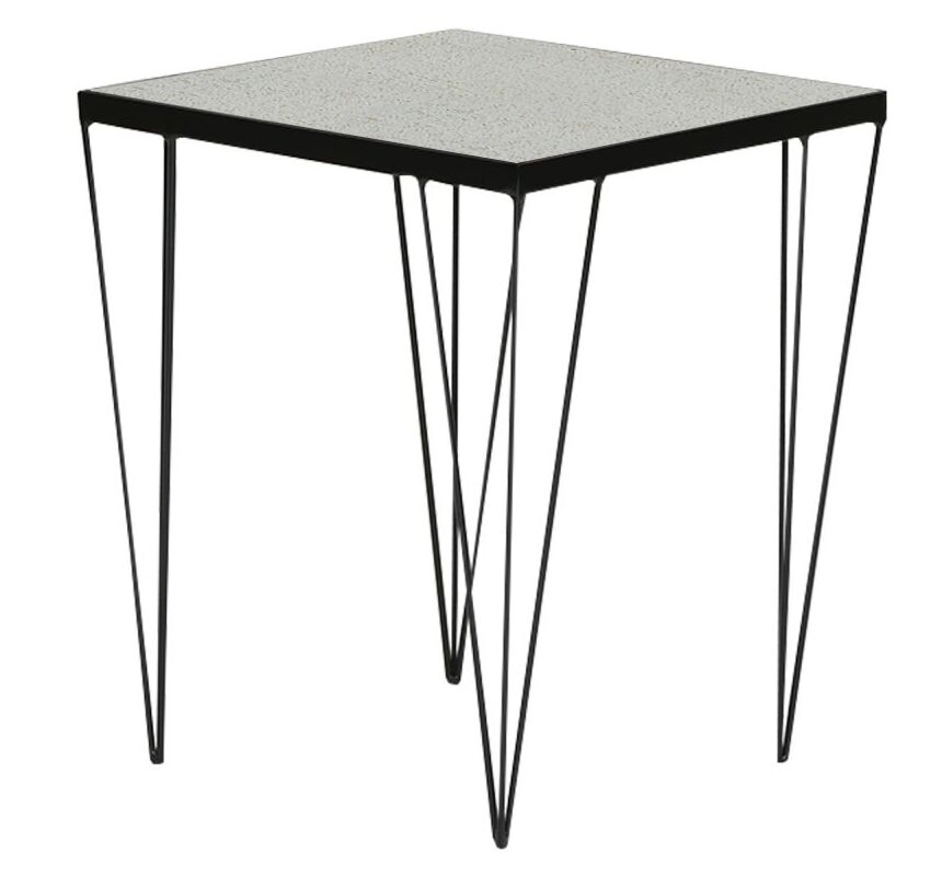 Gee End Table Table Top Color: White