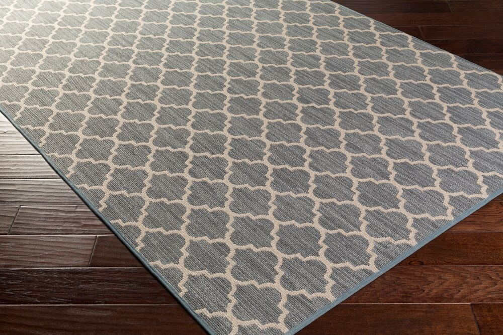 Chesterville Gray Area Rug Rug Size: Rectangle 12' x 18'