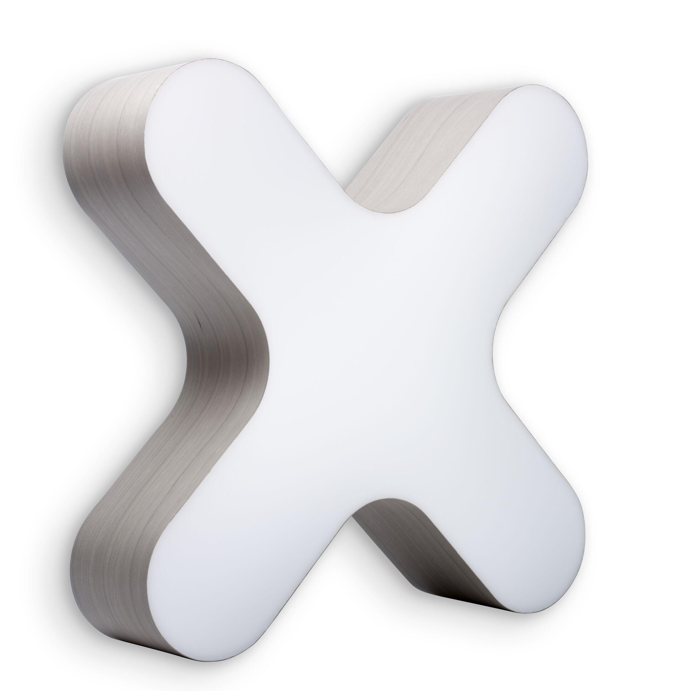 X-Club 4 -Light LED Flush Mount Fixture Finish: Gray