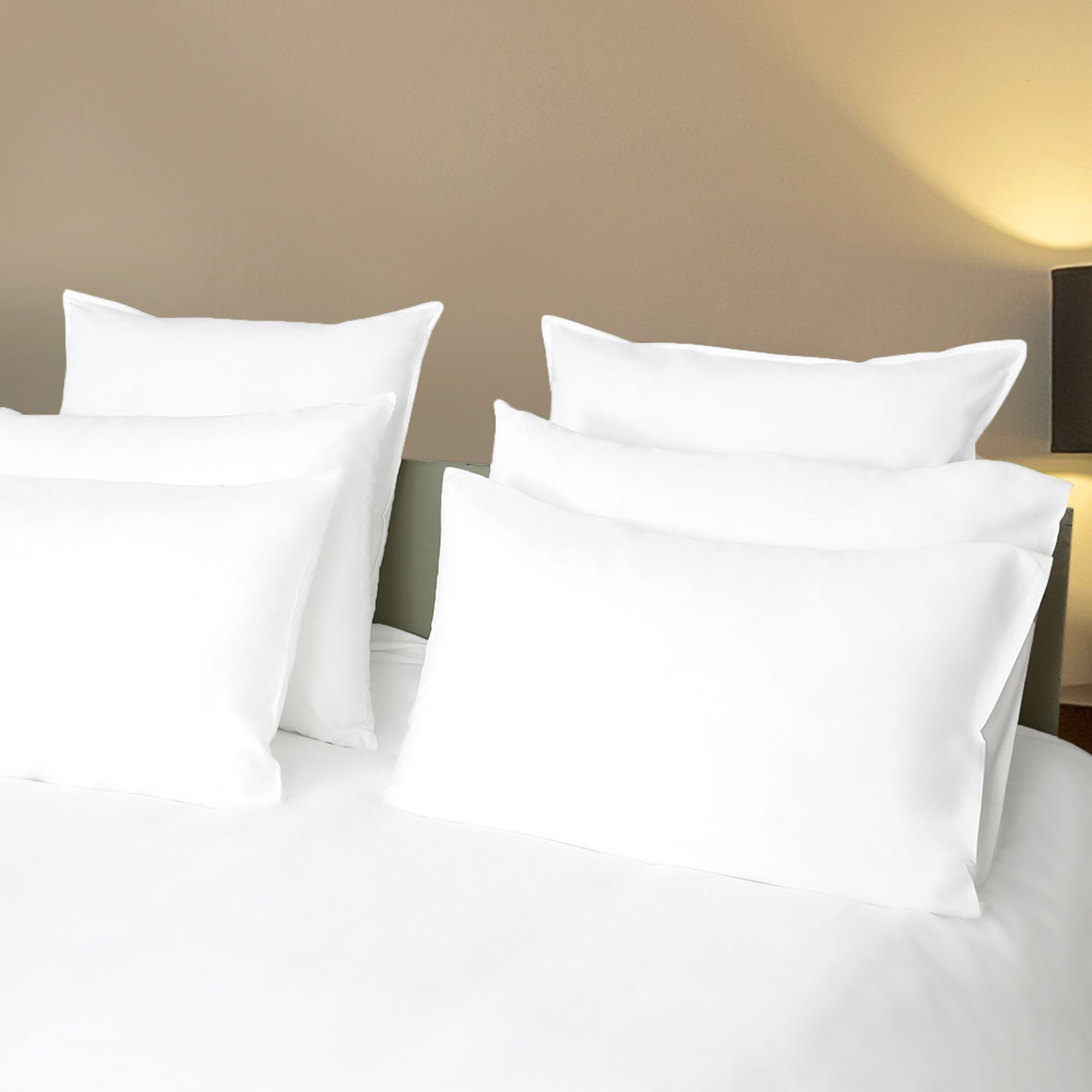Hursey Sateen Solid 800 Thread Count 100% Cotton Sheet Set Size: California King, Color: White