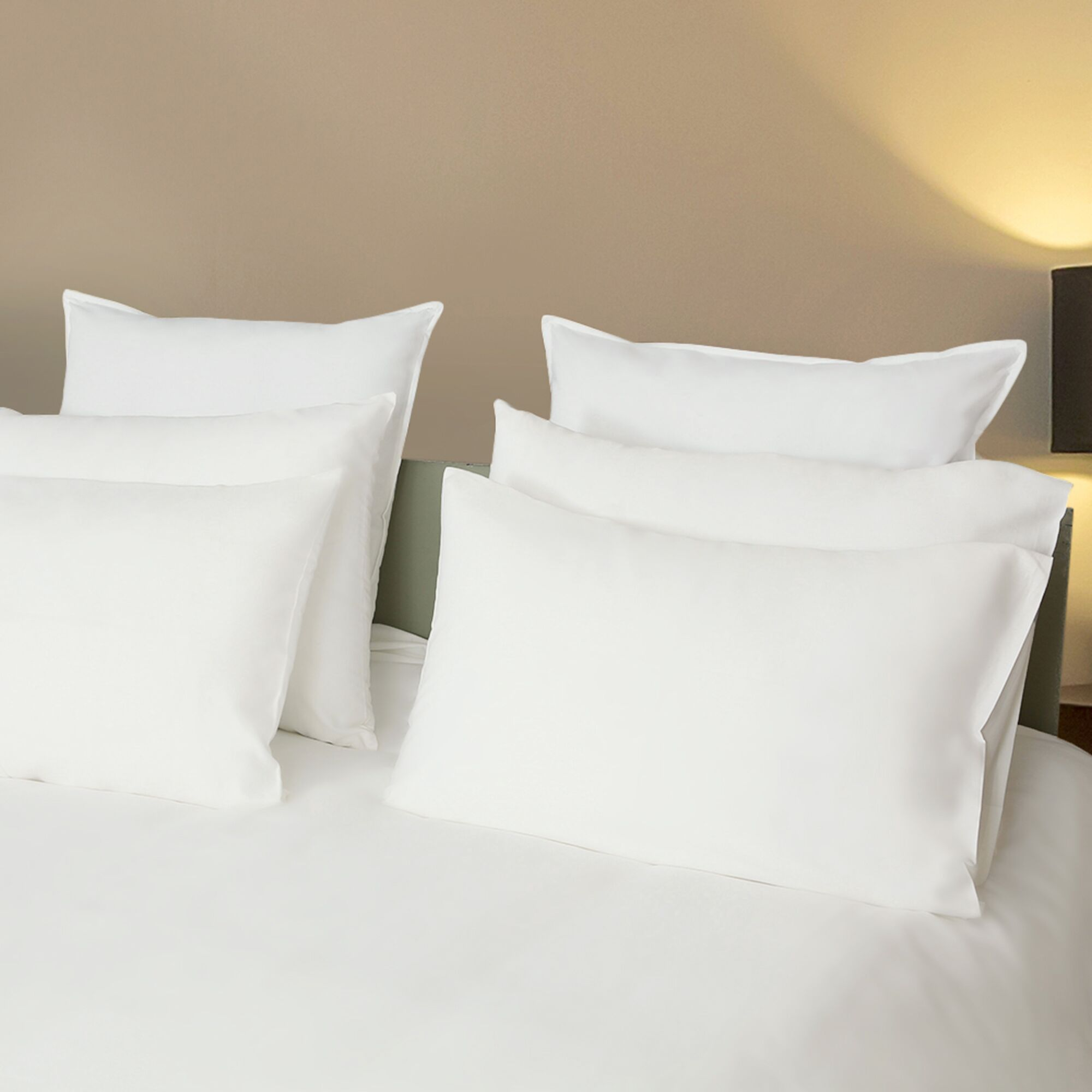Iddings Sateen Solid 1000 Thread Count 100% Cotton Sheet Set Size: King, Color: White
