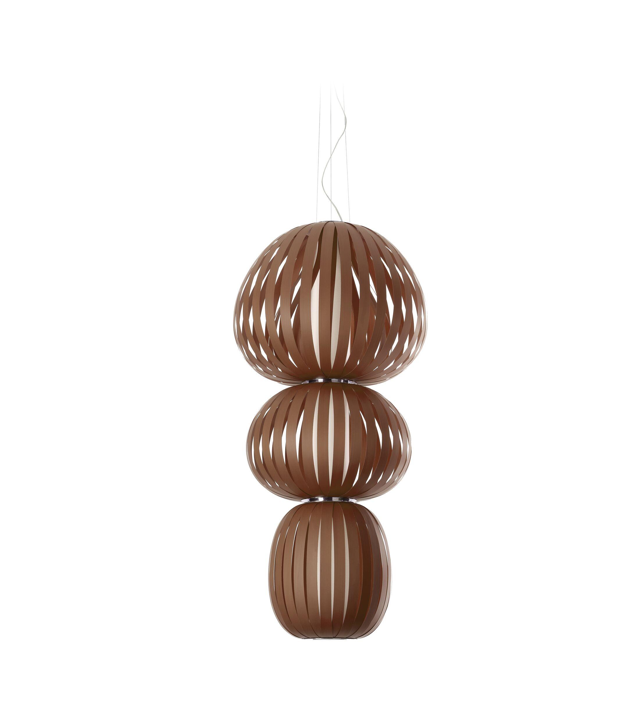 Totem LED Novelty Pendant Shade Color: Chocolate, Size: Medium