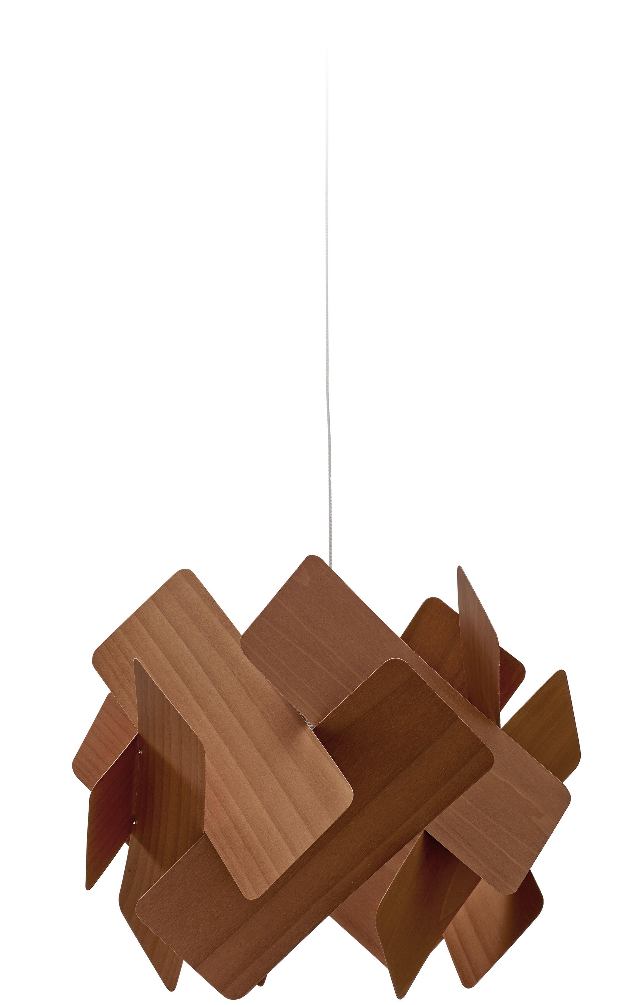 Escape 1-Light LED Geometric Pendant Shade Color: Chocolate, Features: E26 Base