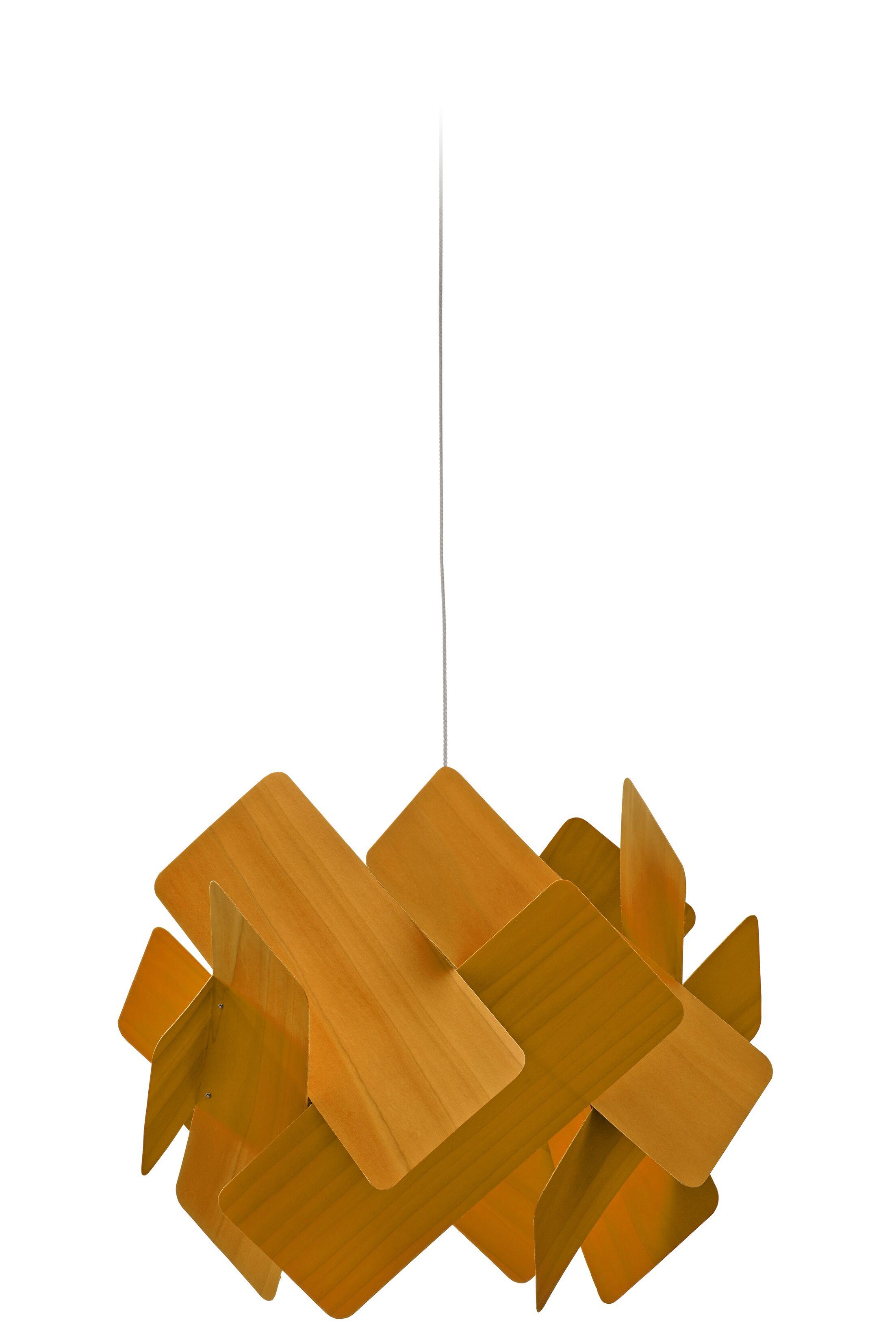 Escape 1-Light LED Geometric Pendant Features: E26 Base, Shade Color: Yellow
