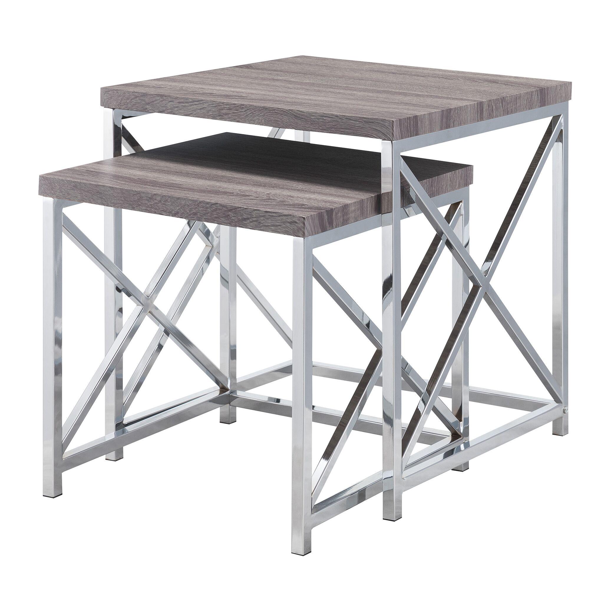 Aliza 2 Piece Nesting Table Set