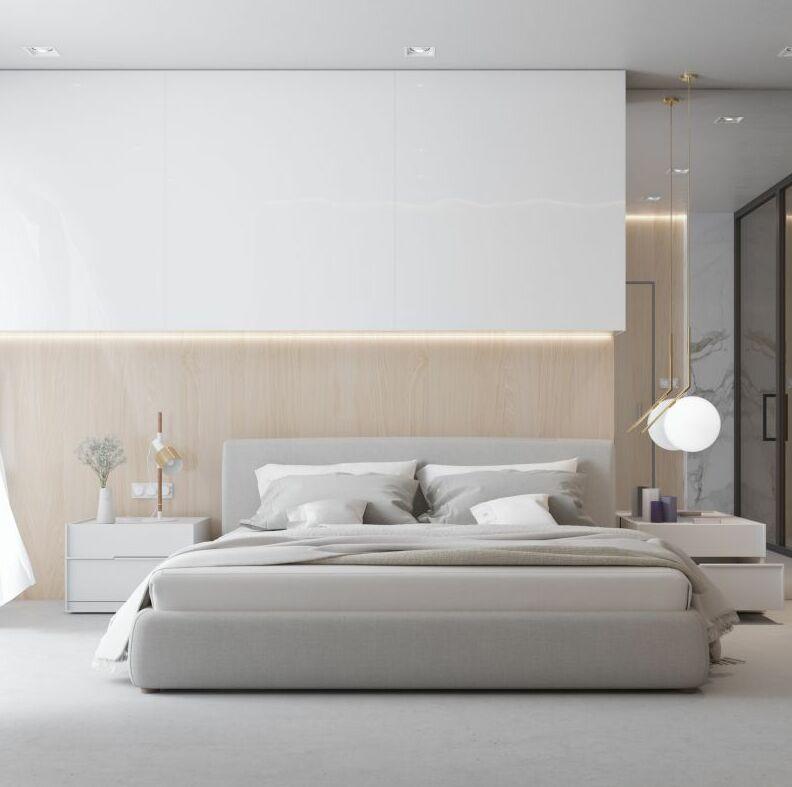 Edwin Upholstered Platform Bed Size: King, Color: Alesund