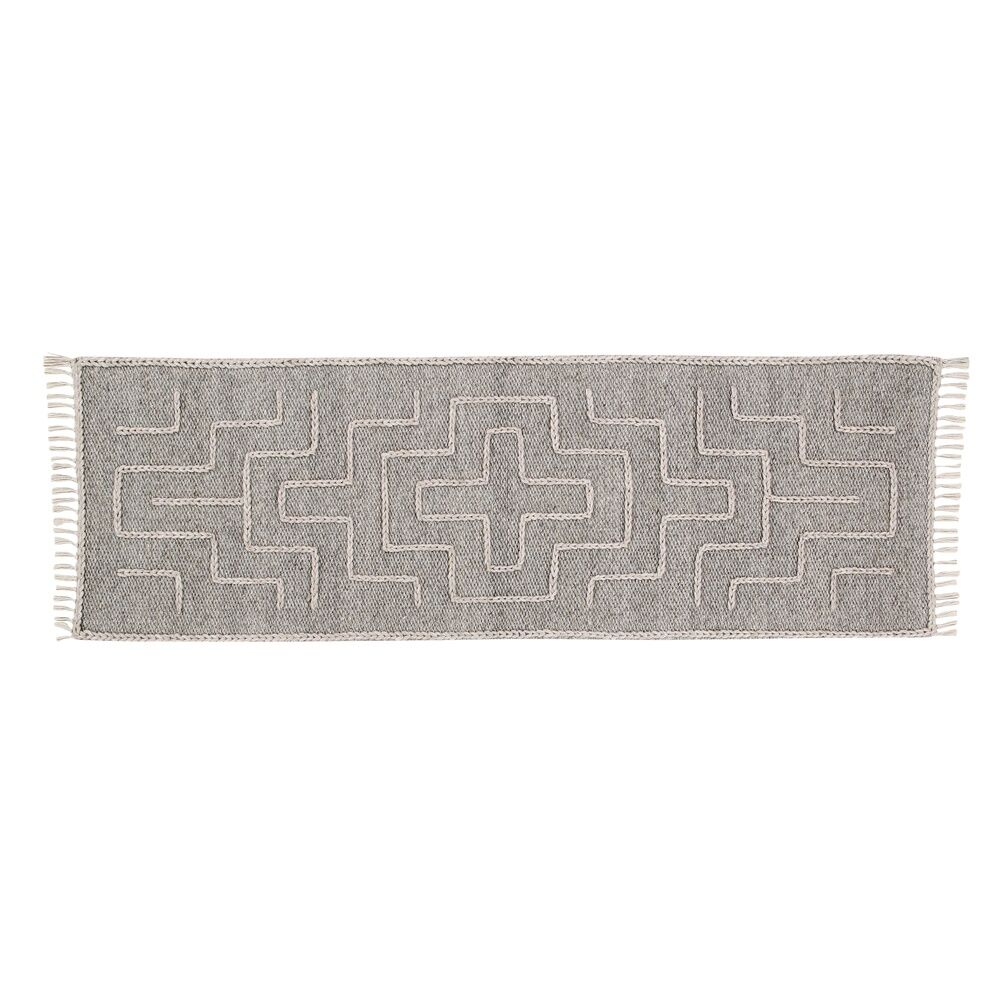 Romo Handwoven Wool Beige Area Rug Rug Size: Runner 2' x 6'
