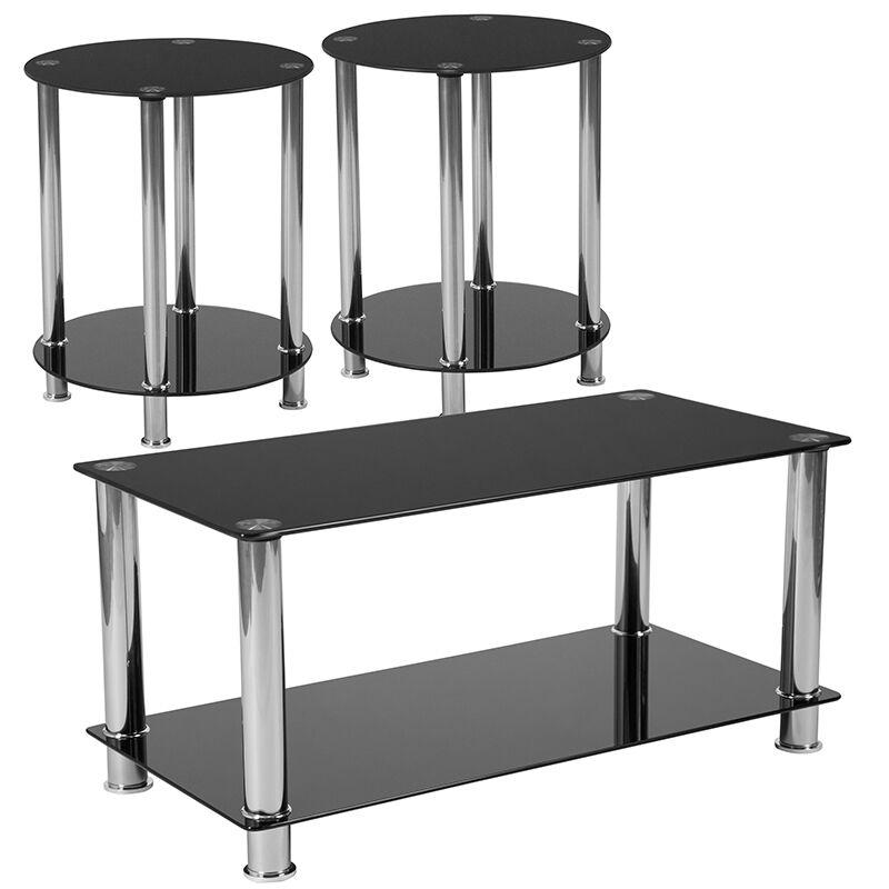 Anson 3 Piece Coffee Table Set