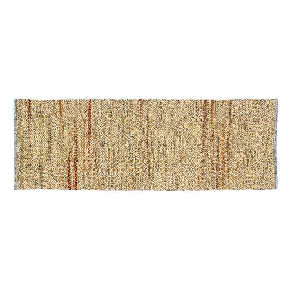 Pixley Rectangular Hand-Woven Wool Mustard Area Rug Rug Size: Runner 2' x 6'
