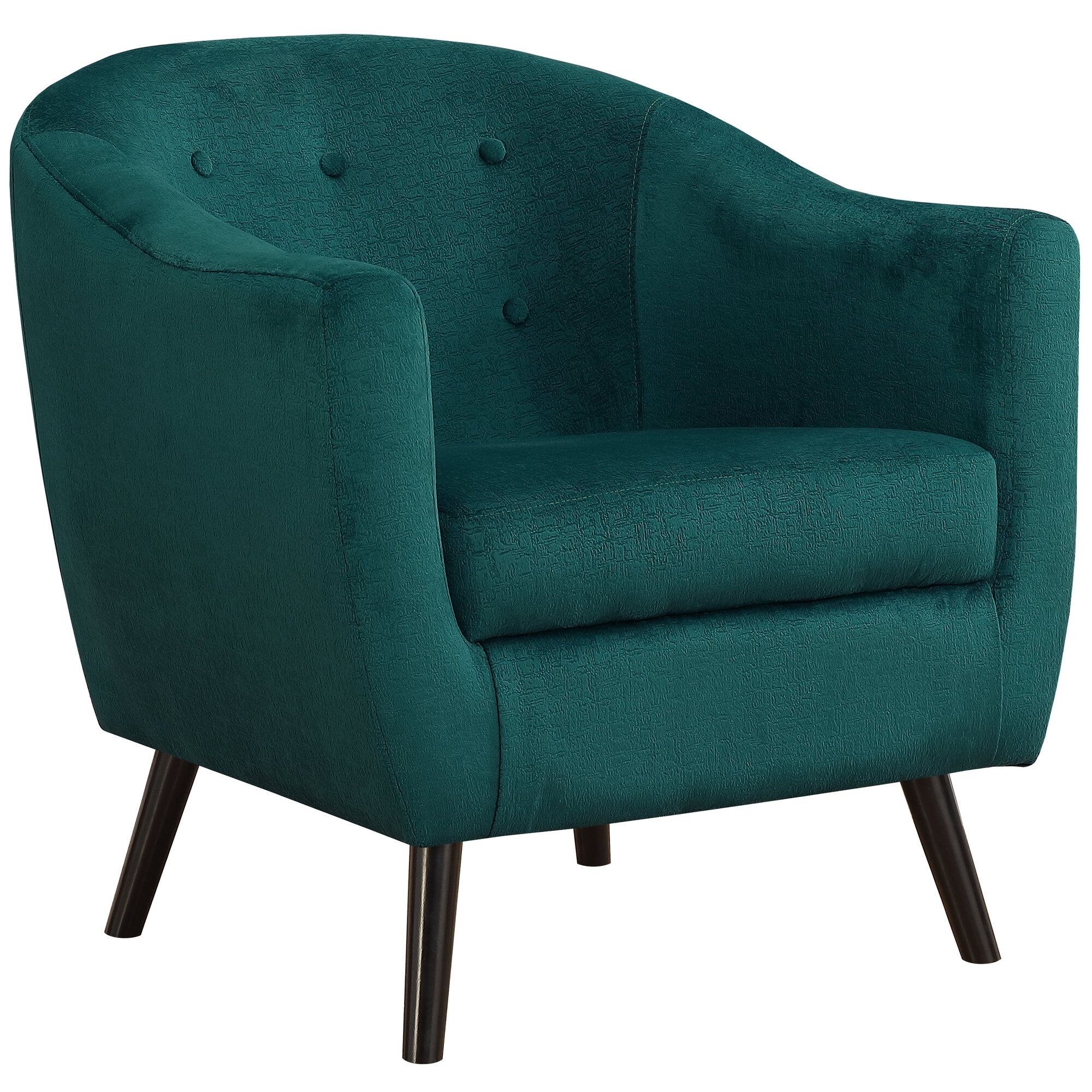 Hammonds Side Chair Color: Emerald