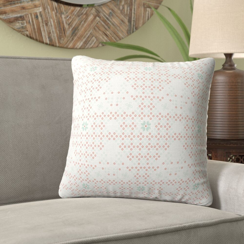 Kating Quilted Throw Pillow Size: 24