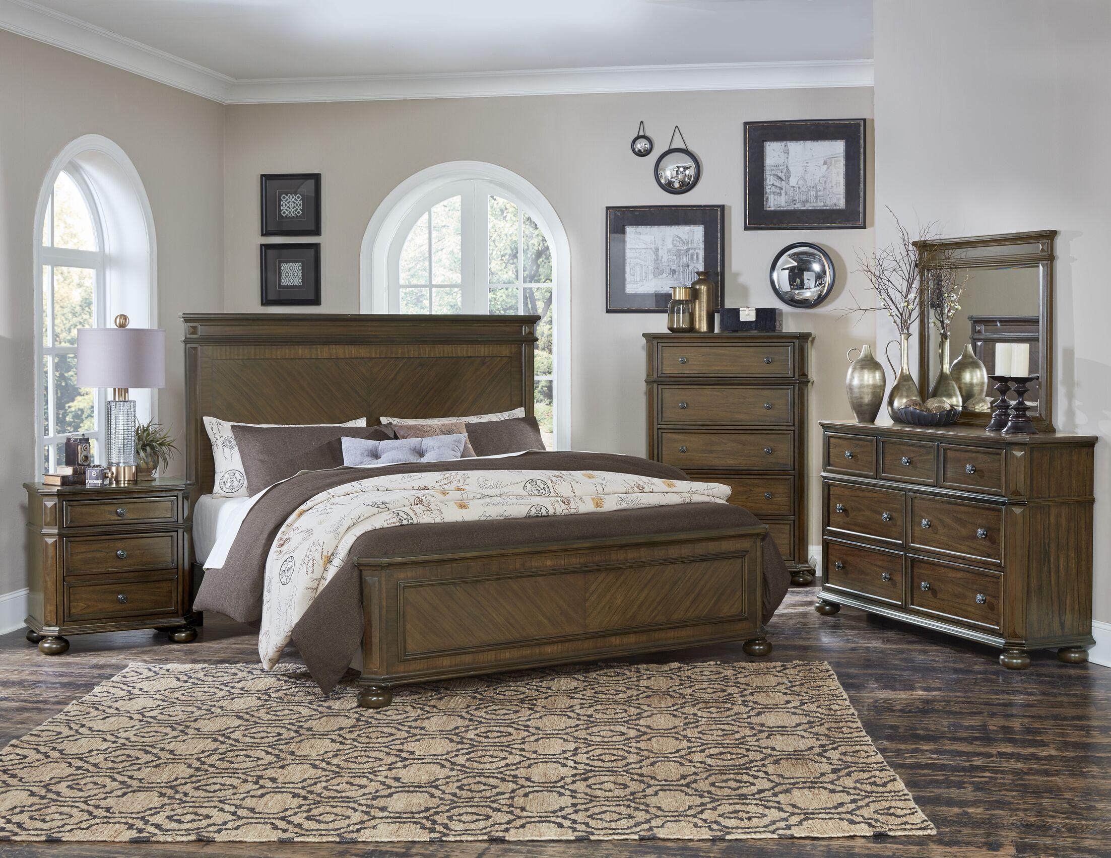 Malik Panel Configurable Bedroom Set