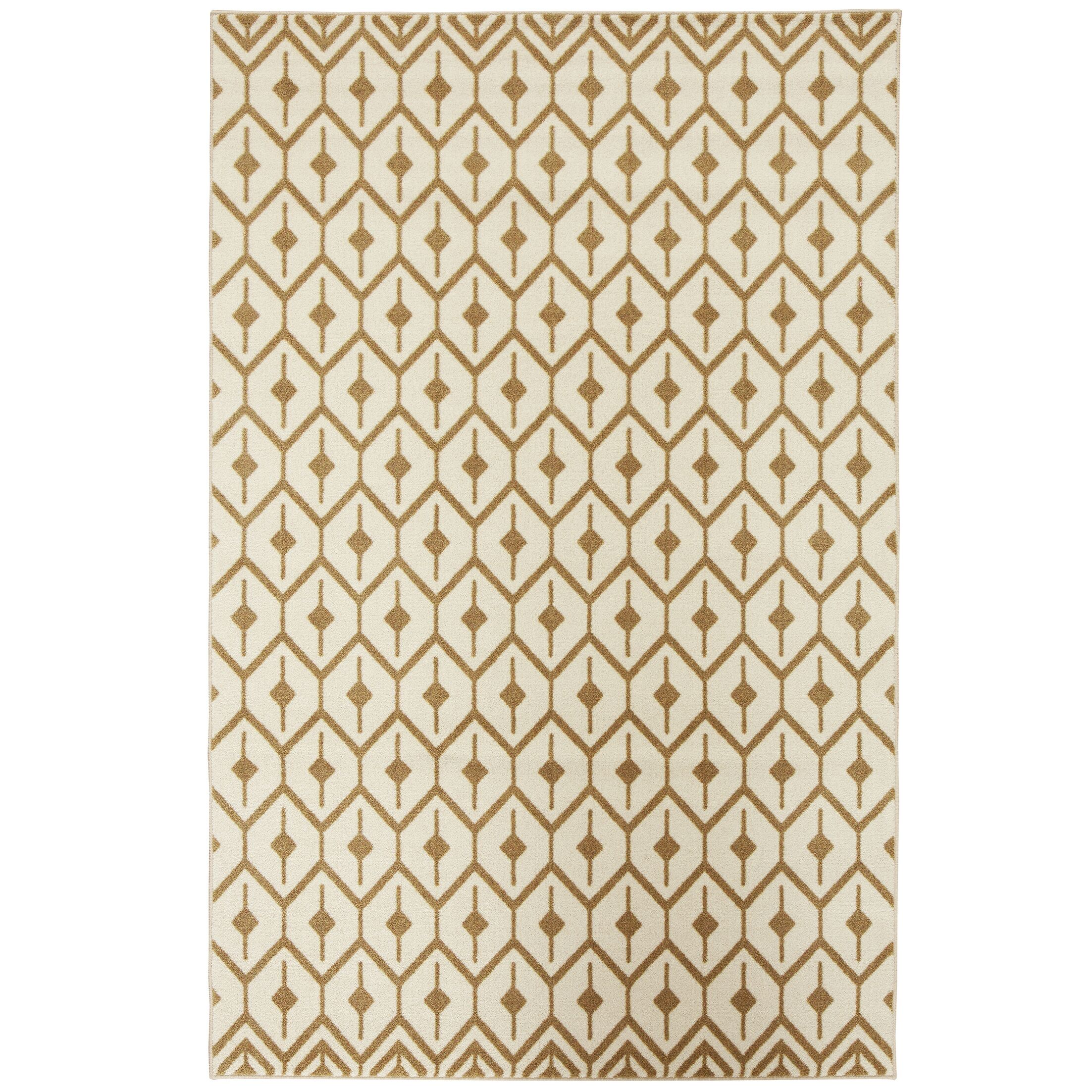 Engler Brown Area Rug Rug Size: Rectangle 5' x 8'