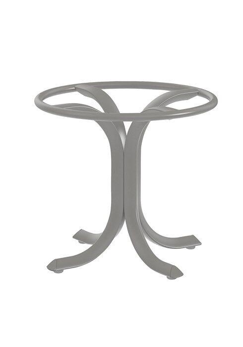 Side Table Base Frame Color: Parchment