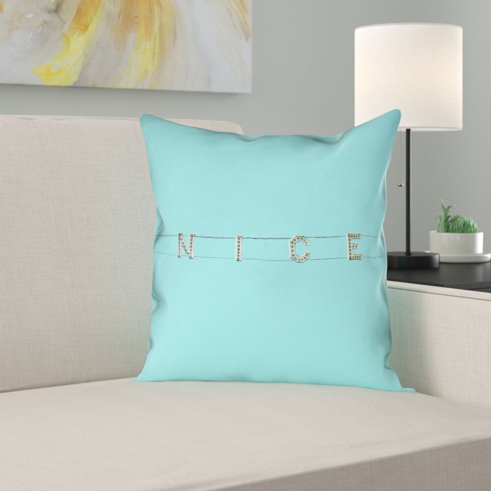 Hansard Nice Square Pillow Cover Size: 26