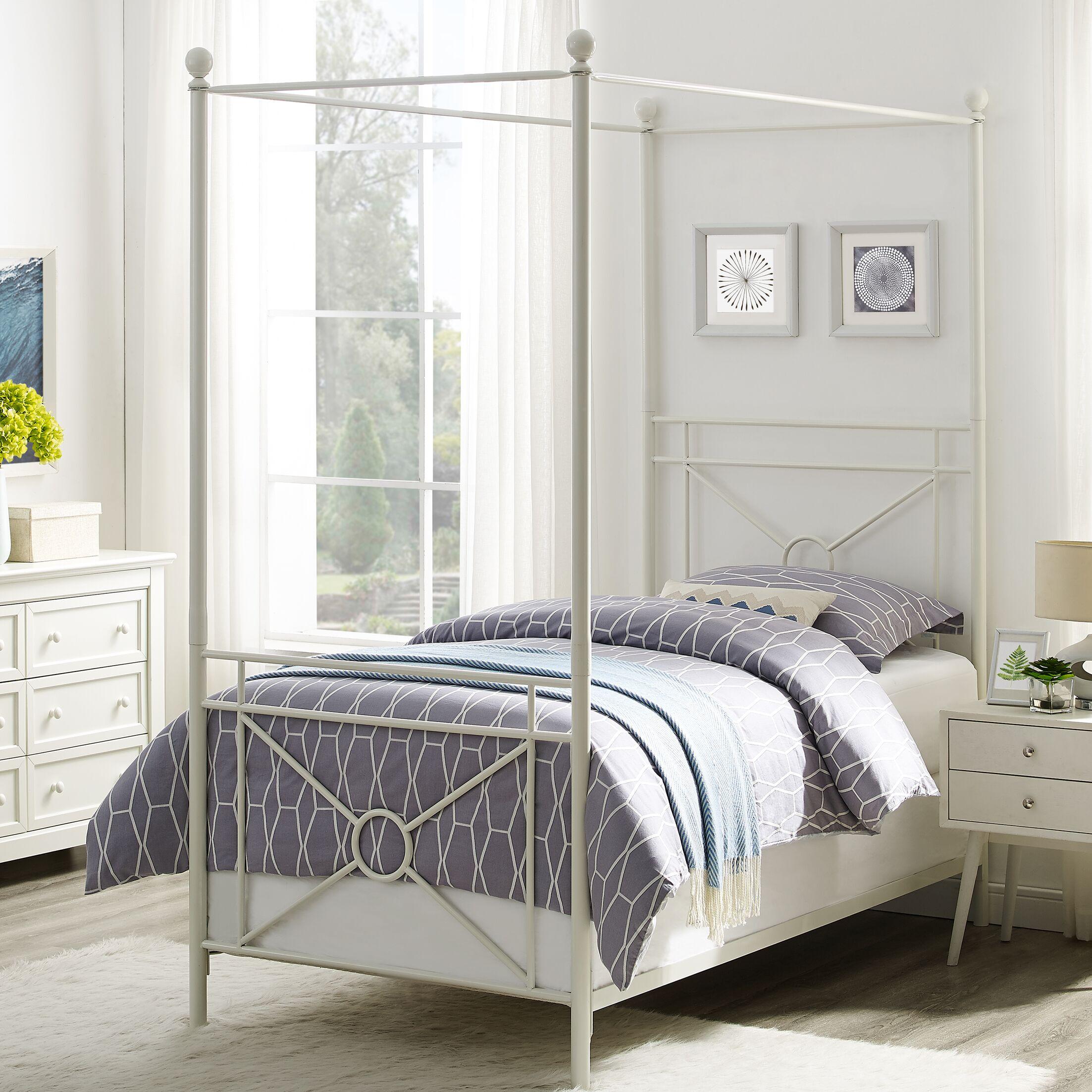 Berkey Twin Canopy Bed