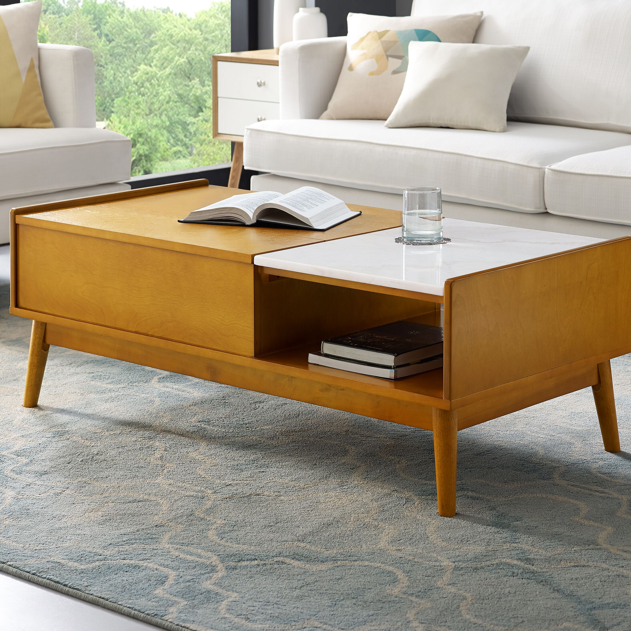 Easmor Coffee Table with Storage