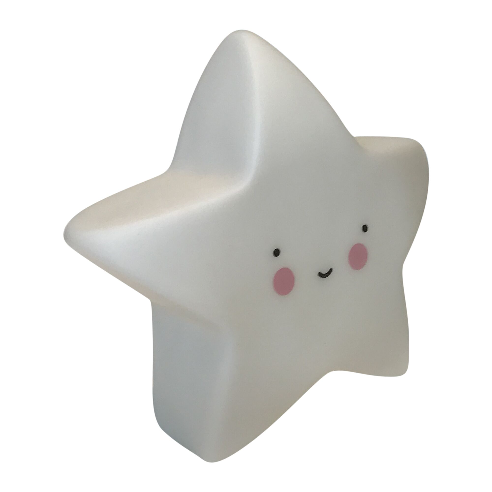 Soft Star Night Light Color: White