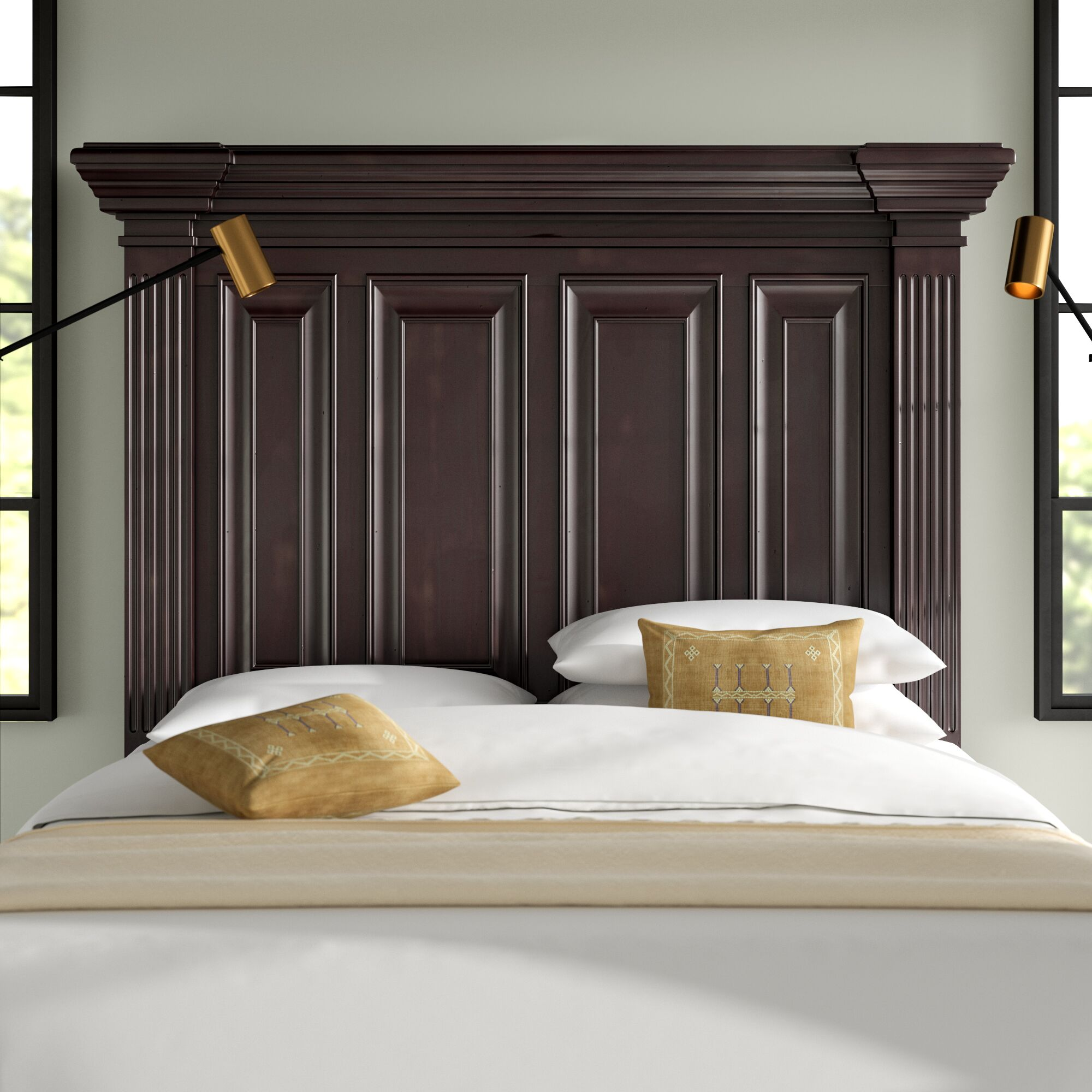 Cowley Liberty Street Panel Headboard Size: Queen