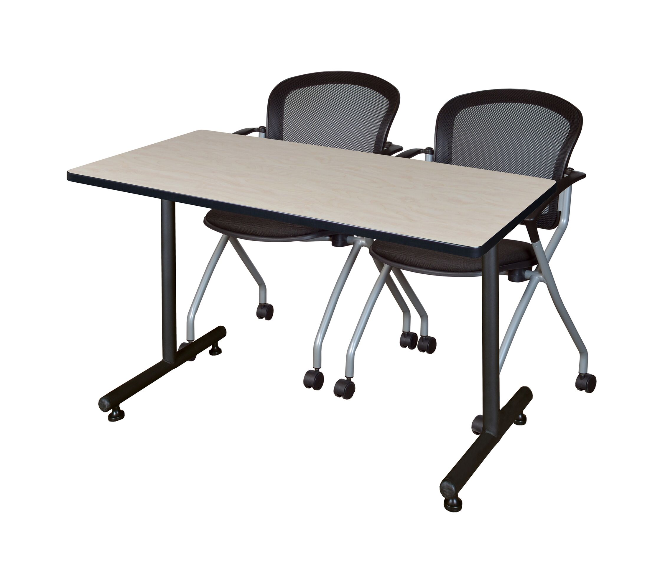 Marin Training Table Tabletop Finish: Maple, Size: 29