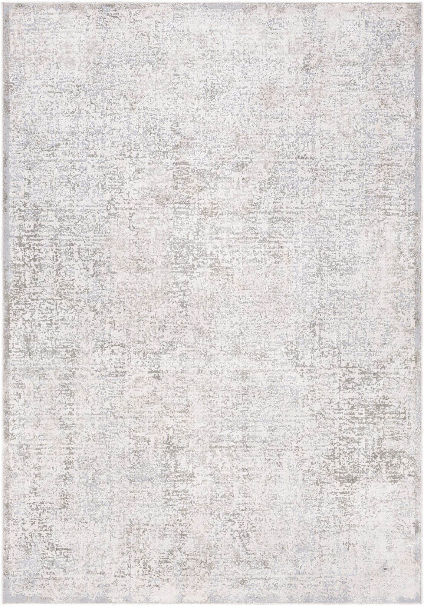 Oceanview Distressed Abstract Light Gray/Gray Area Rug Rug Size: Rectangle 5'3
