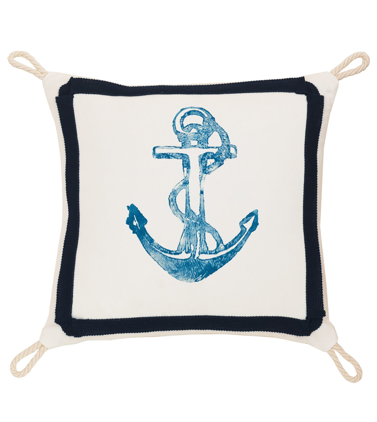 Studio 773 Boat Anchor Loops Indoor/Outdoor Throw Pillow