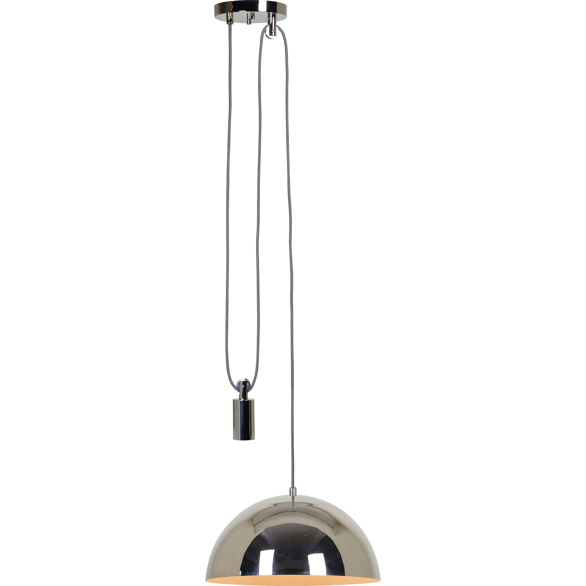 Salmon Ceiling Fixture 1-Light Mini Pendant