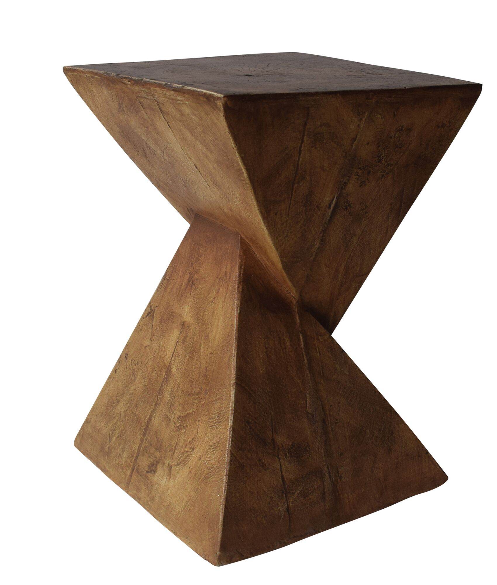 Hurley Outdoor Light-Weight Concrete Accent Table Color: Natural
