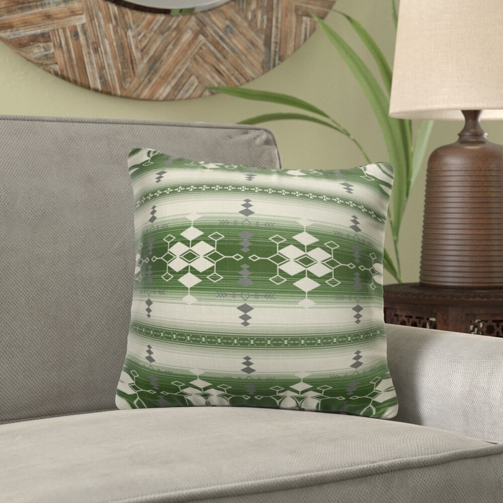 Mayes Throw Pillow Size: 24