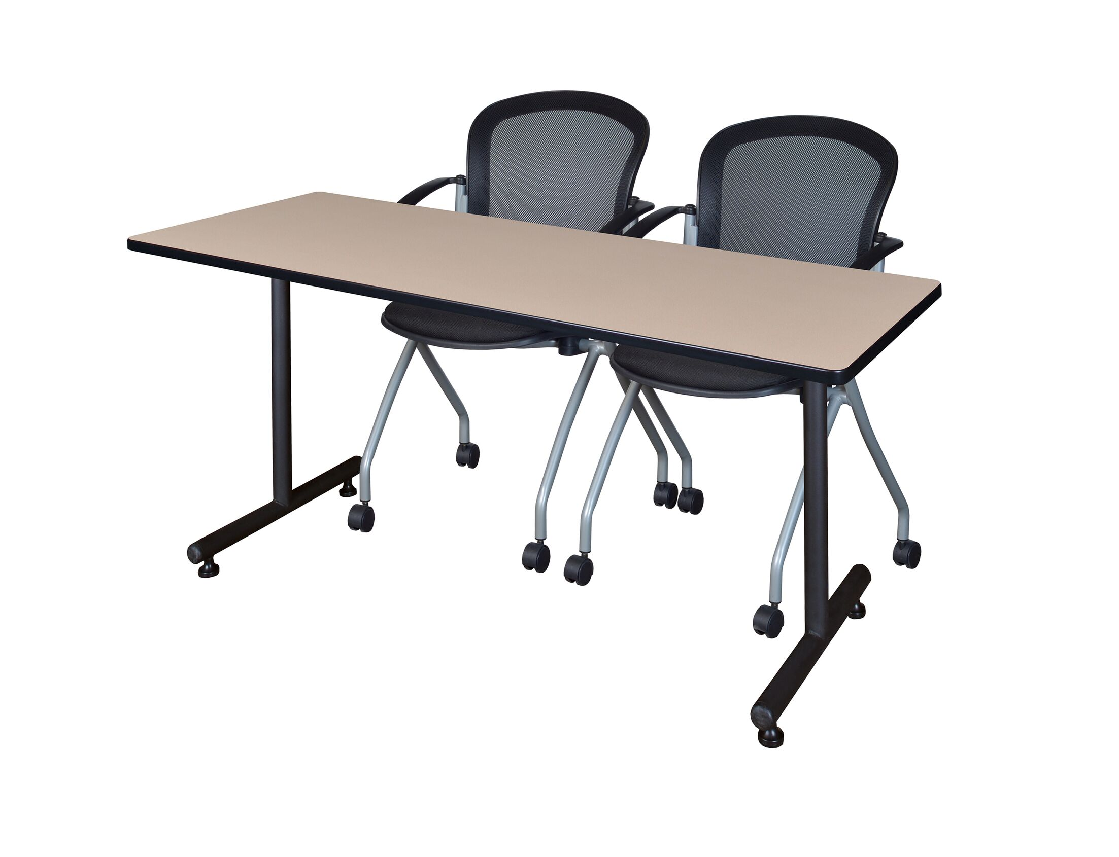 Marin Training Table with Wheels Size: 29