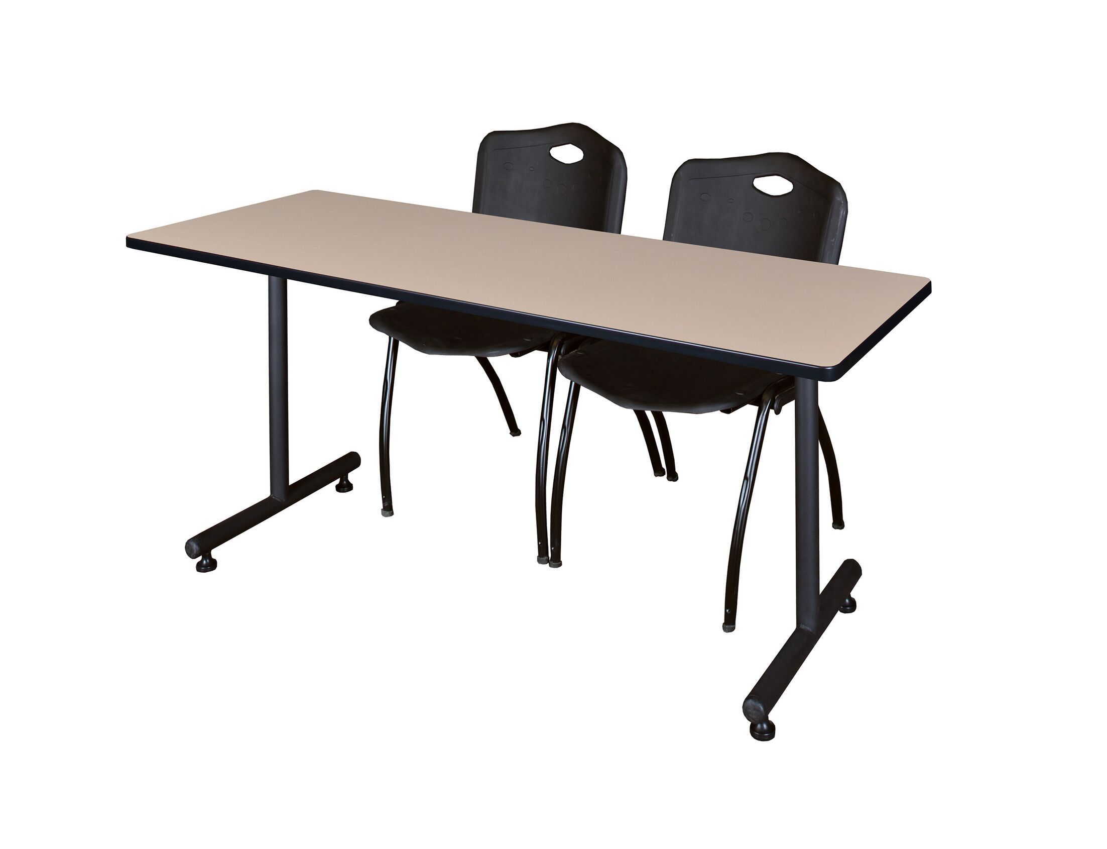 Marin Training Table with Wheels Chair Finish: Black, Size: 29