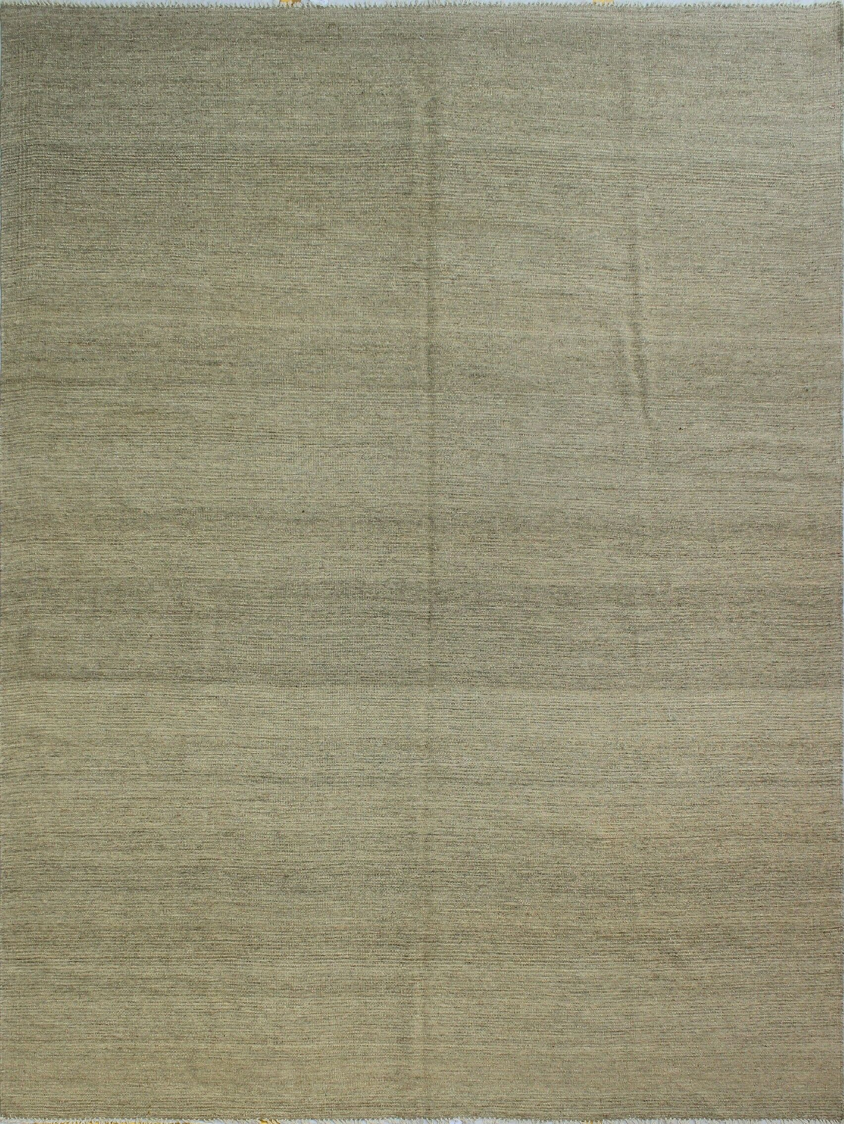 Dickie Hand-Knotted Wool Gray Area Rug