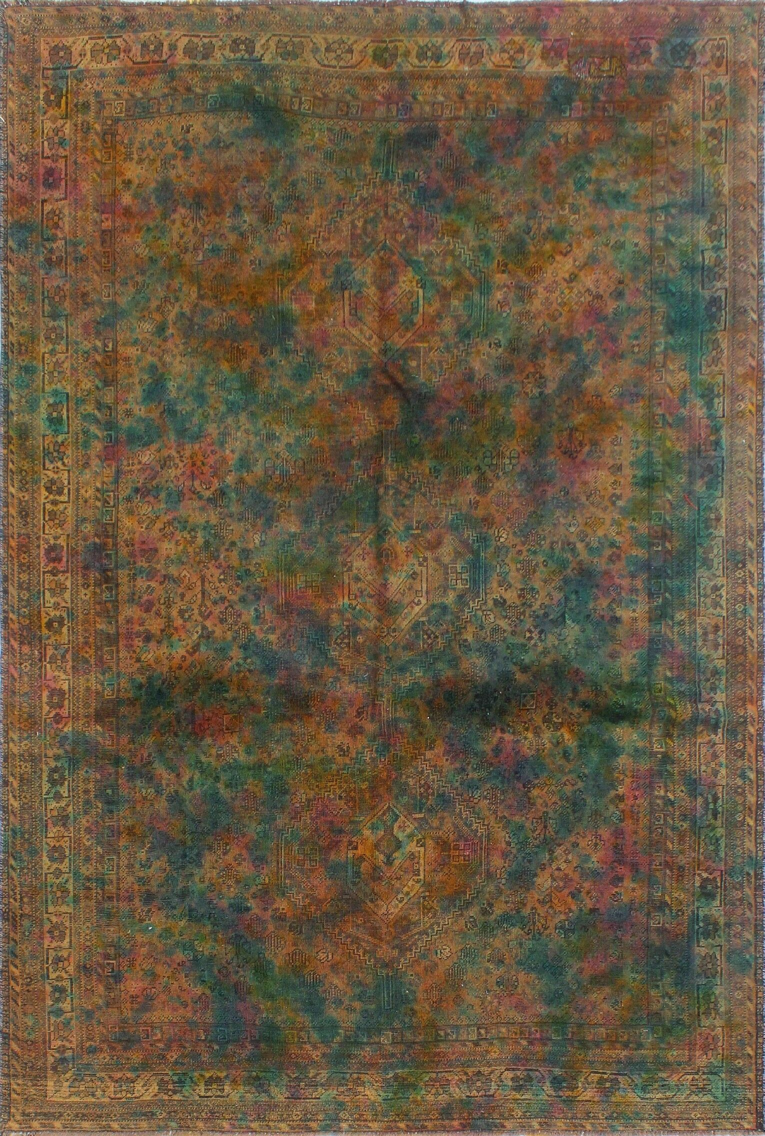 One-Of-A-Kind Treva Hand-Knotted Wool Beige/Brown Area Rug