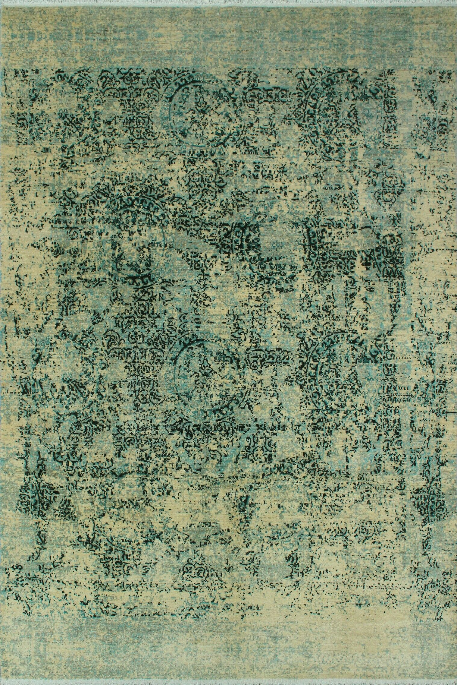 Stevan Hand-Knotted Wool Area Rug