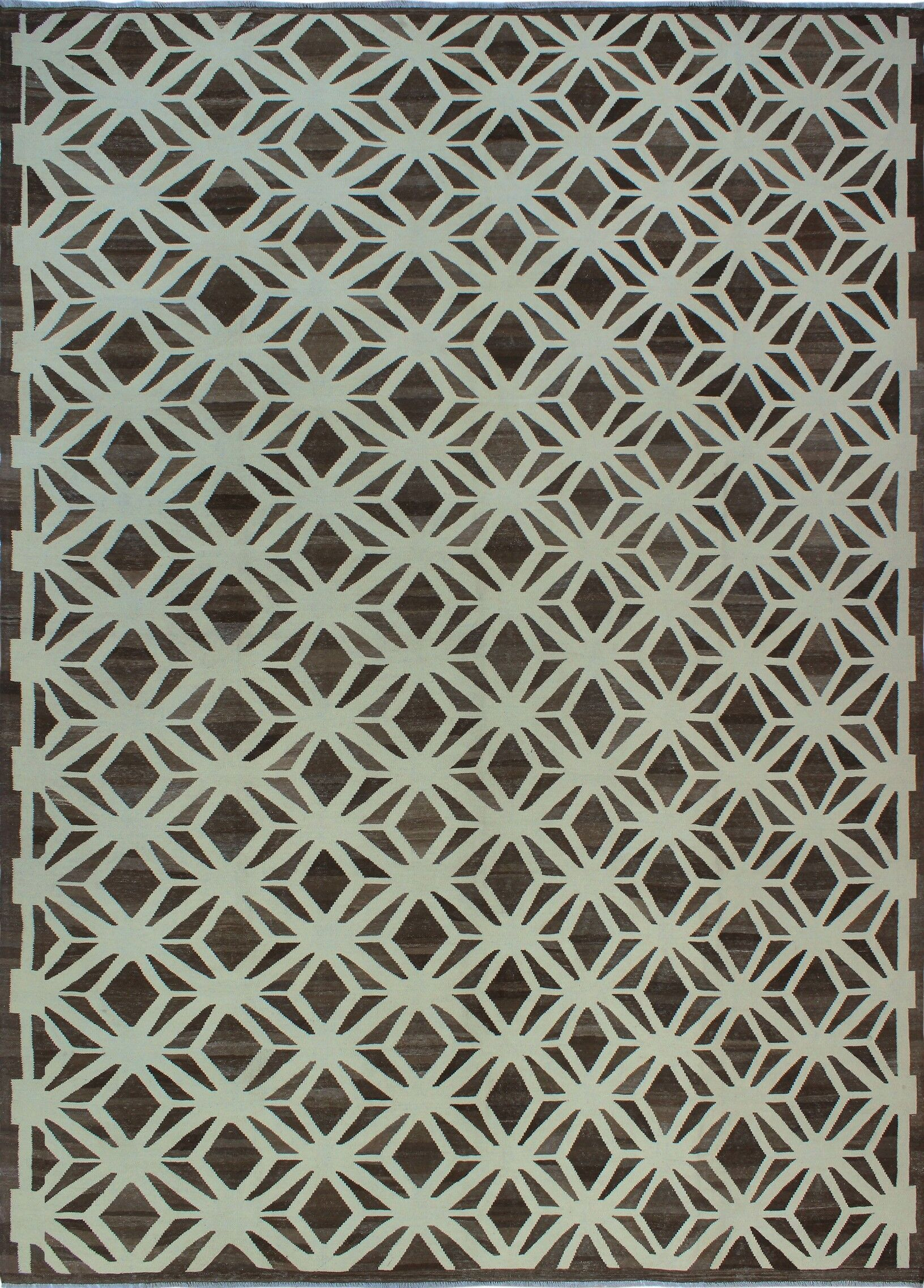 Remmington Hand-Knotted Wool Gray Area Rug