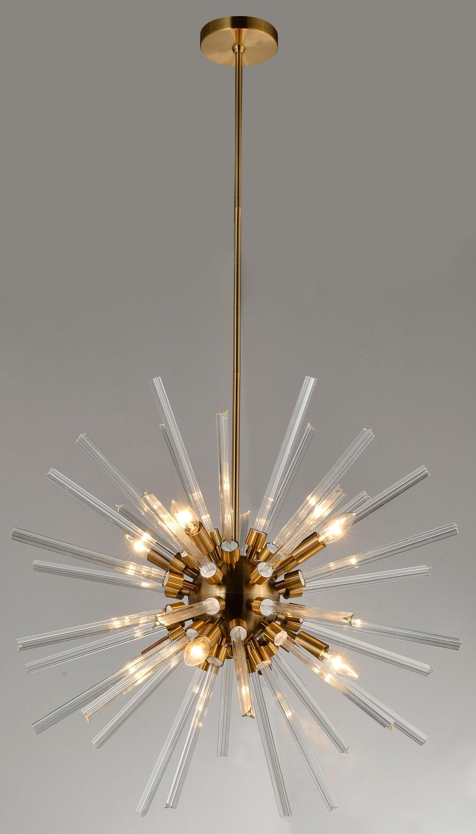 Scout 8-Light Sputnik Chandelier