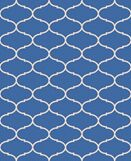 Nora Blue/Beige Indoor/Outdoor Area Rug Rug Size: Rectangle 8' x 10'
