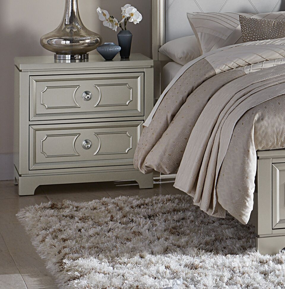 Eldridge 2 Drawer Nightstand