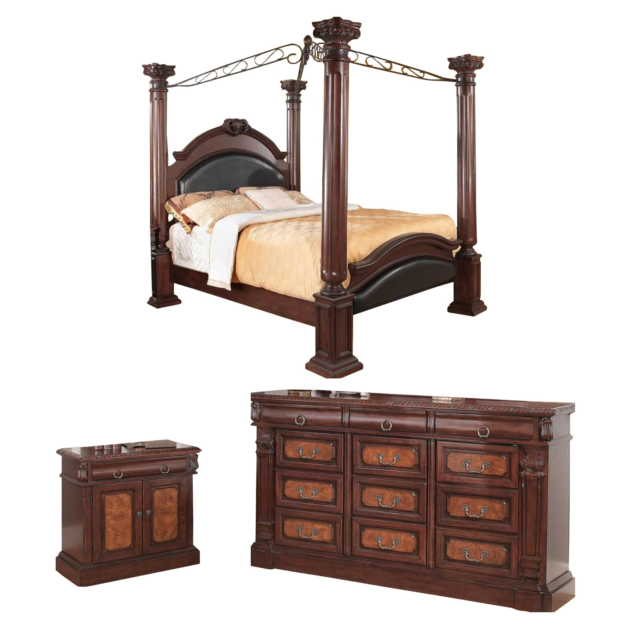 Noemi Canopy Configurable Bedroom Set